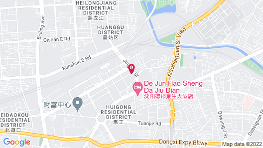 Shenyang Marriott Hotel Map