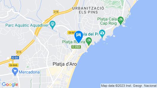 htop Caleta Palace Map