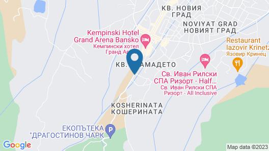 Mountain View Resort Map