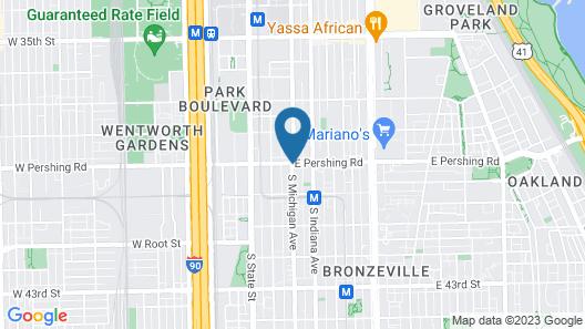 Amber Inn Map