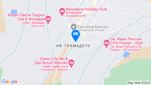 Casa Karina Hotel Map