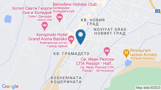 Apartment Tourist Complex & SPA Astera Bansko Map