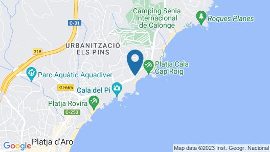 Park Hotel San Jorge & Spa Map