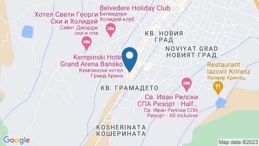 Kempinski Hotel Grand Arena Map