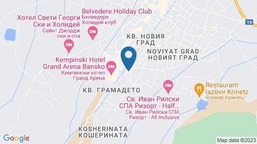 Elegant Lodge Hotel Map