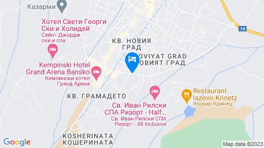 Hotel Tanne Map