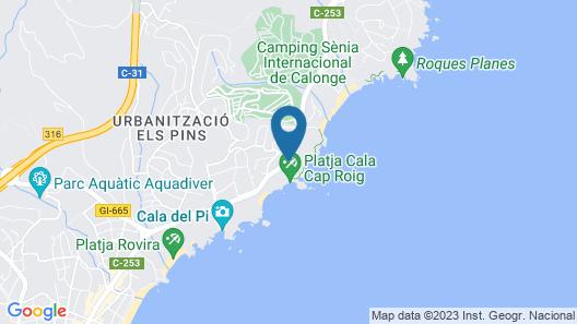 Hotel Cap Roig Map