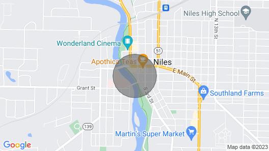 Rivers Edge Lofts - Unit 9 Map