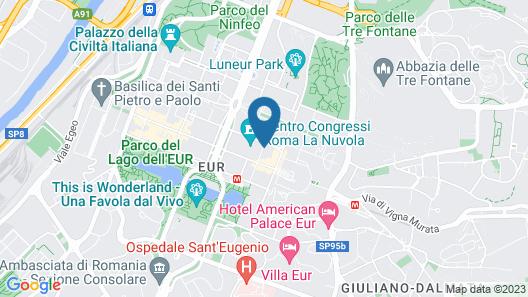 Hotel Dei Congressi Map