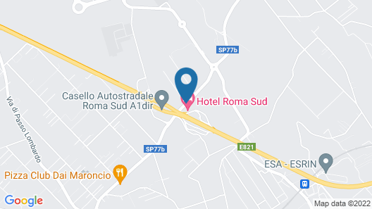 Hotel Roma Sud Map