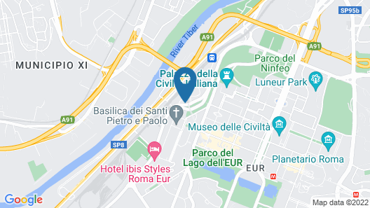 La Badia del Cavaliere Map