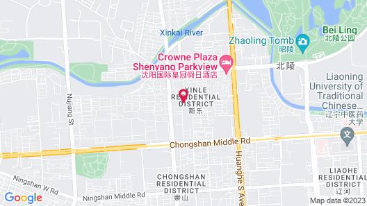 Crowne Plaza Shenyang Parkview, an IHG Hotel Map