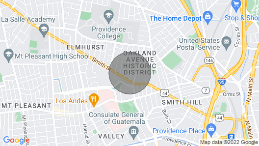 Federal Hill/Providence Apt Just 1 Mi to Downtown! Map