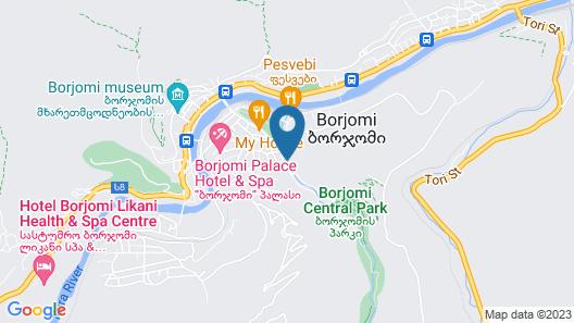 Alma-Ata Hotel Map