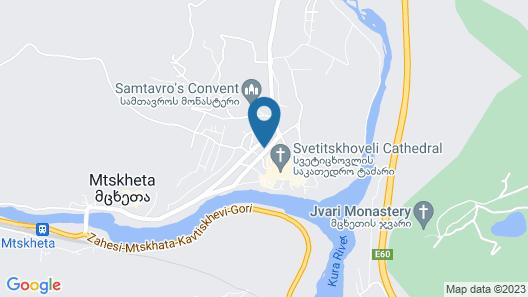 Hotel Bagineti Map