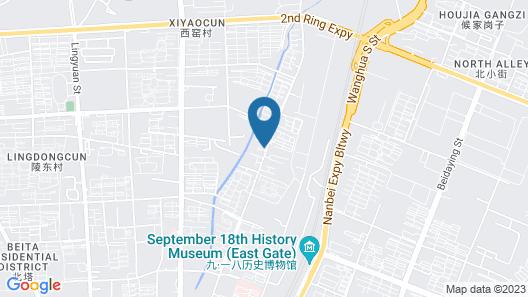 Shell Shengyang Huanggu District THE Yalv River YI Map