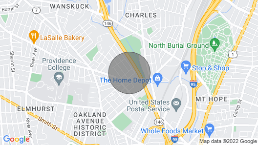 Smart and Luxurious Condo in the Heart of Providence Map