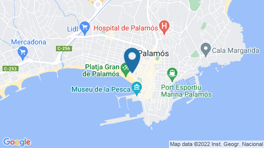 Hotel Trias Map