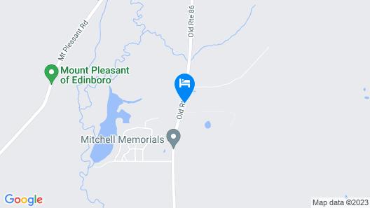 Vintage Farmhouse 2.4 Miles to Mount Pleasant Ski! Map