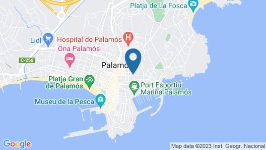 Hostal Residencia Catalina Map