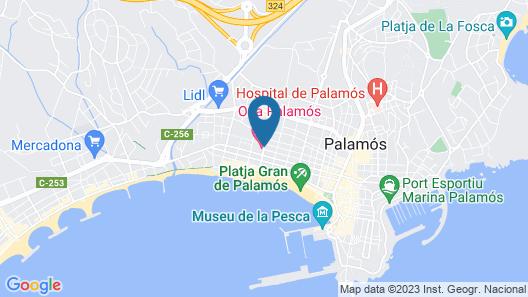 Ona Palamós Map
