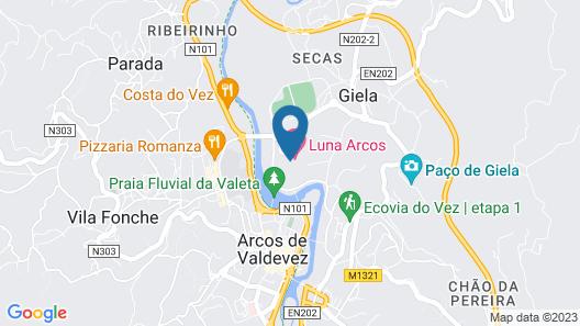 Luna Arcos Hotel Nature & Spa Map