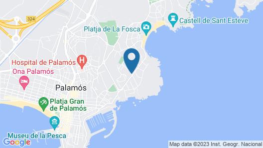 La Fosca Breeze Map