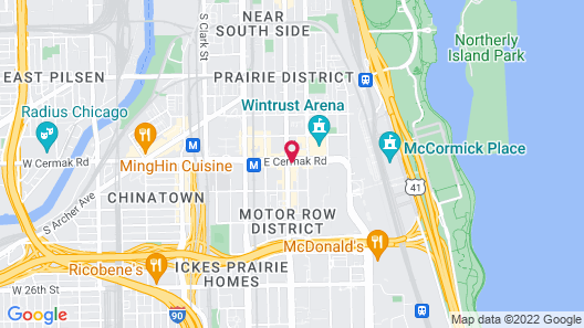 Home2 Suites by Hilton Chicago McCormick Place Map