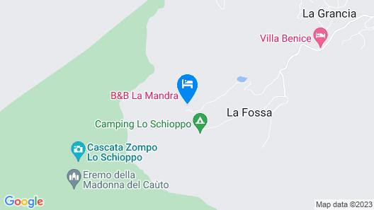 La Mandra Map