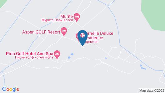 Balkan Jewel Resort and Chalets Map