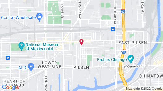 Pilsen Roadhouse Map