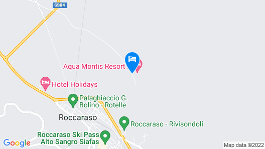 Aqua Montis Resort & Spa Map