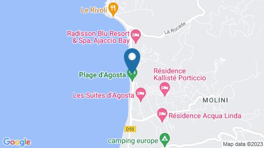Radisson Blu Resort & Spa Ajaccio Bay Map