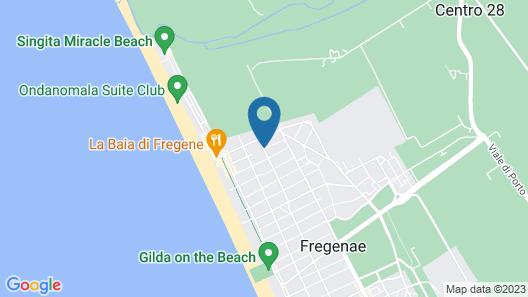 Hotel Miraggio Map