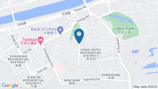 Meidu Hotel of Fushun Mining Group Co.,ltd Map
