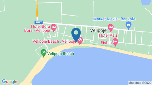 Hotel Freskia Map