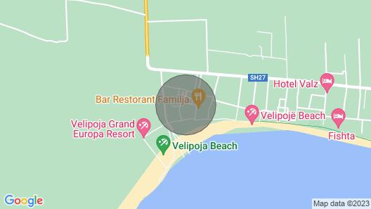 White Beach Villa - Luxury Map