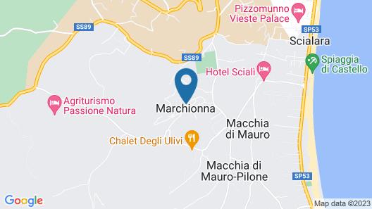 Residence Maresol Map
