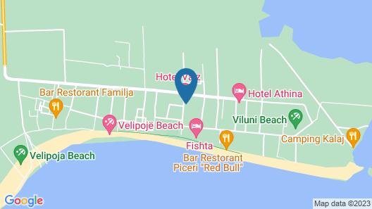 Hotel Valz Map