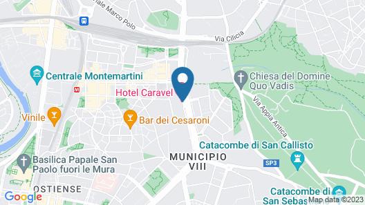 Hotel Caravel Map