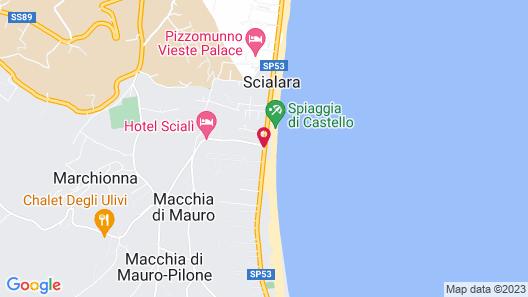 Oasiclub Hotel - Appartamenti Map