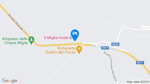 5 Miglia Hotel & SPA Map