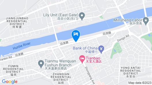Wanda Realm Fushun Map