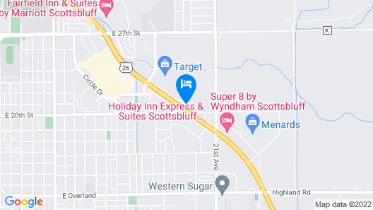 Holiday Inn Express Hotel & Suites Scottsbluff-Gering, an IHG Hotel Map