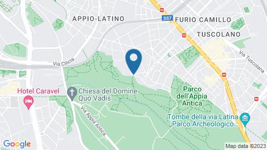 Romoli Hotel Map