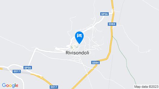 LHP Suite Rivisondoli Map
