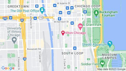 Kasa Chicago South Loop Apartments Map