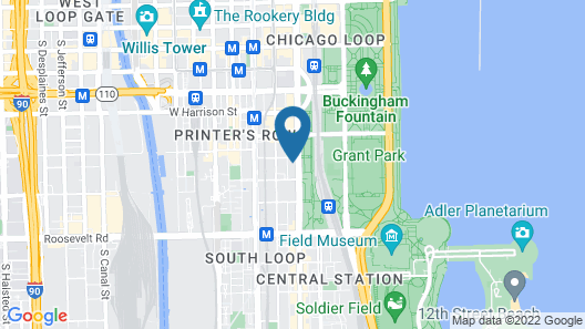 Hotel Essex Chicago Map