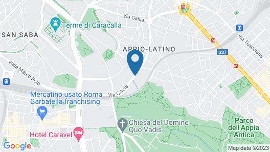 Hotel Cilicia Map