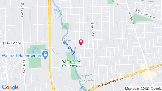 The Elmhurst Experience Map